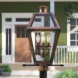 Sol 72 Outdoor™ Kesha Outdoor 4-Light Lantern Head Metal in Brown, Size 26.0 H x 17.0 W x 13.5 D in   Wayfair B53E176A054D4B1F80723C81557B14A6