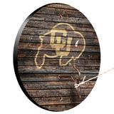 Colorado Buffaloes Weathered Design Hook and Ring Game