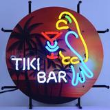 Bay Isle Home™ Gravette Tiki Bar Wall Mounted Neon Sign in Brown, Size 17.0 H x 17.0 W x 4.0 D in | Wayfair 7C337475C2B54A2391F2D210E59B7C12