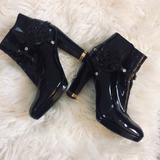 Tory Burch Shoes   Ltd Time Price Drop Tory Burch Heeled Boots   Color: Black   Size: 7