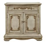 """Delacora HM-DS-P050201 Spiritus 7-1/4"""" Wide Single Drawer Wood Accent Cabinet Weathered White"""
