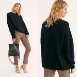 Free People Sweaters   Free People Oversized Pullover Alpaca Sweater   Color: Black   Size: Various