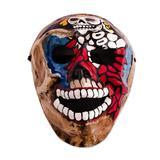Recycled papier mache mask, 'Catrina Skull'