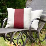 East Urban Home Washington Pullman Indoor/Outdoor Throw Pillow Polyester/Polyfill/Polyester/Polyester blend in Red/White | Wayfair
