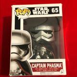 Disney Other | Disney Captain Phasma Star Wars Funko Pop! Nwt | Color: Black | Size: Os