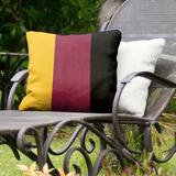 East Urban Home Arizona Tempe Indoor/Outdoor Throw Pillow Polyester/Polyfill/Polyester/Polyester blend in Red/Yellow/Black | Wayfair