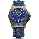 I.n.o.x. Professional Diver Titanium Blue Camo Dial Watch - Blue - Victorinox Watches