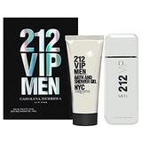 Carolina Herrera 212 VIP 2 Piece Set For Men (3.4 Eau Di Toilette Spray/3.4 Shower Gel)