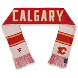 Fanatics Branded Red/White Calgary Flames Heritage Classic Scarf