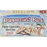 Bigelow Tea Peppermint Bark Minty Chocolate Herbal Tea, 20 Count (3 Pack(20 Count))