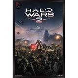 "Trends International Halo Wars 2-Key Art Wall Poster, 14.725"" x 22.375"", Black Framed Version"
