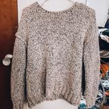 J. Crew Sweaters   J. Crew Alpaca Wool Sweater   Color: Gray/White   Size: S