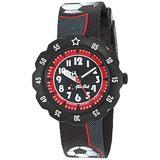 Flik Flak Kids' Quartz Plastic Strap, Black, 16 Casual Watch (Model: ZFPSP010)
