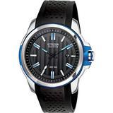 Black Polyurethane Strap Watch 45mm - Black - Citizen Watches