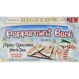 Bigelow Tea Peppermint Bark Minty Chocolate Herbal Tea, 20 Count (4 Pack(20 Count))