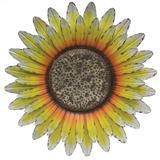 Regal Art & Gift 12717 - Galvanized Sunflower Wall Decor Botanical Wall Decor
