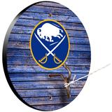 """""""Buffalo Sabres Weathered Design Hook and Ring Game"""""""