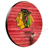 """""""Chicago Blackhawks Weathered Design Hook and Ring Game"""""""