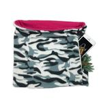 SHOLDIT Women's Cold Weather Scarves Camo/Pimk - Gray Camouflage & Pink Convertible Neck Gaiter