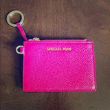 Michael Kors Accessories | New Michael Kors Id Key Chain Wristlet | Color: Pink | Size: Os