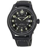 Khaki Field Automatic Titanium Mens Watch - Black - Hamilton Watches