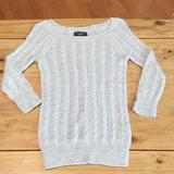 American Eagle Outfitters Tops   3 For $21; Aeo Lightweight Cable Sweater; Xs   Color: Gray   Size: Xs