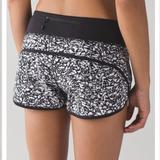 Lululemon Athletica Shorts   Lululemon Speed Short Sz 4 (2 12)   Color: Black/White   Size: 4