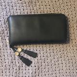 Gucci Accessories | **Authentic** Gucci Wallet | Color: Black | Size: 7.5w X 4.5h X 1d