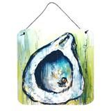 Highland Dunes Rock Oyster Wall Decor Metal in Blue, Size 6.0 H x 6.0 W x 0.03 D in | Wayfair BE0FA9B4FCA44778B53A7738355A3451