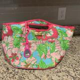 Lilly Pulitzer Dining | Lilly Pulitzer Large Cooler Tote | Color: Pink | Size: Os