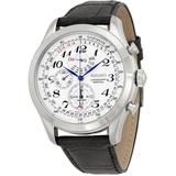 Neo Classic Alarm Perpetual Chronograph Mens Watch - Metallic - Seiko Watches