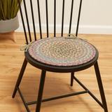 August Grove® Bar Harbor Indoor Dining Chair Cushion in Blue, Size 0.5 H x 15.0 W x 15.0 D in | Wayfair 482DD5D2B863401AAD65109D0EBD57CA