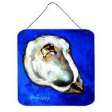 Highland Dunes Oyster Shell Wall Decor Metal in Blue, Size 6.0 H x 6.0 W x 0.03 D in | Wayfair 8EFF69D59D964285BAF6CAC2EE0133BB