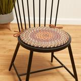 August Grove® Bar Harbor Indoor Dining Chair Cushion in Brown, Size 0.5 H x 15.0 W x 15.0 D in | Wayfair 6CAC9A8AA8BF4C318E45C45A81270FEA