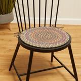 August Grove® Bar Harbor Indoor Dining Chair Cushion in Brown, Size 0.5 H x 15.0 W x 15.0 D in | Wayfair 4B7ADB197EFF44389E5F22E27118322E