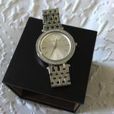 Michael Kors Jewelry | Michael Kors Darci Silver-Tone Watch | Color: Silver | Size: Os