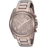 Michael Kors Women's Blair Quartz Watch with Stainless Steel Strap, Brown, 18 (Model: MK6764)