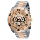 Invicta Pro Diver Men 48mm Stainless Steel Stainless Steel Rose Gold dial Quartz, 30751