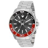 Invicta Pro Diver Men 46mm Stainless Steel Stainless Steel Charcoal dial Quartz, 30743