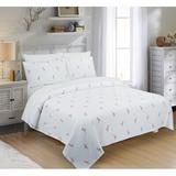 Bay Isle Home™ Dyar Flamingo Single Coverlet Cotton/100% Cotton in White, Size King Coverlet   Wayfair 7813B8E35E1C4CA8A051F81E6A531CF7
