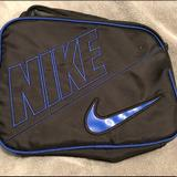Nike Other | Nike Insulated Lunchbox | Color: Black/Blue | Size: Osb