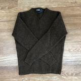 Polo By Ralph Lauren Sweaters   100% Lambswool Sweater Polo By Ralph Lauren   Color: Brown/Red   Size: M