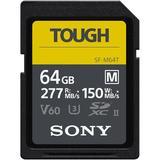 Sony 64GB SF-M Tough Series UHS-II SDXC Memory Card SFM64T/T1