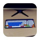 for Hp Sk 2063 2028 Kg 1450 Q 238Cn Sk 2063 Desktop Pc Keyboard Covers Waterproof Dustproof Clear Keyboard Cover Protector Skin-Candyblue-