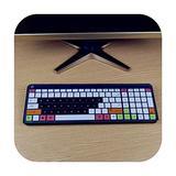 for Hp Sk 2063 2028 Kg 1450 Q 238Cn Sk 2063 Desktop Pc Keyboard Covers Waterproof Dustproof Clear Keyboard Cover Protector Skin-Candyblack-