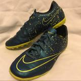 Nike Shoes | Nike Mercurial Youth Soccer Shoes | Color: Blue/Yellow | Size: Us 4