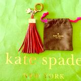 Kate Spade Accessories   Kate Spade Tassel Keychain!!   Color: Red   Size: Os