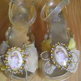 Disney Shoes | 1112 Beauty & The Beast Shoes | Color: Gold/Yellow | Size: 11g