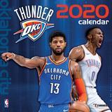 """Oklahoma City Thunder 2020 16-Month Wall Calendar"""