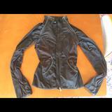 Lululemon Athletica Jackets & Coats | Lululemon Athletica Track Jacket | Color: Black | Size: 4